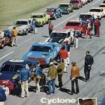 AJ Foyt at Ontario Motor Speedway