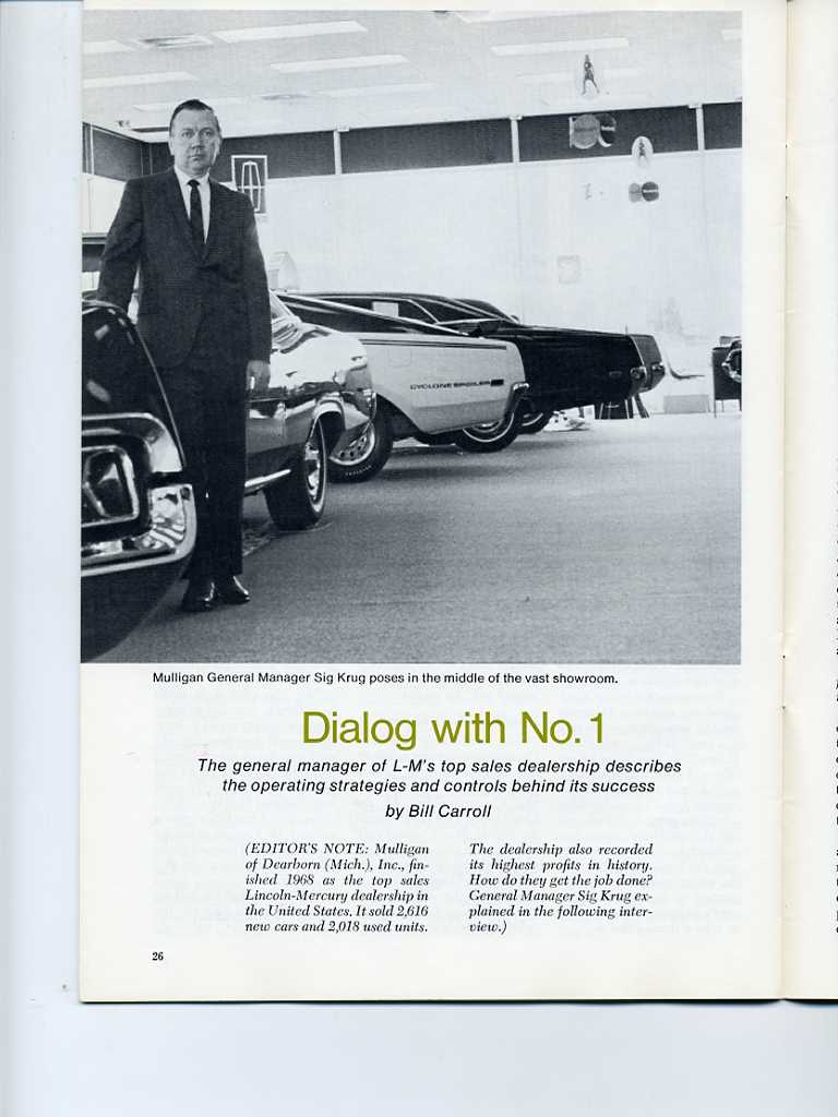Photo of 1969 Dealer Magazine