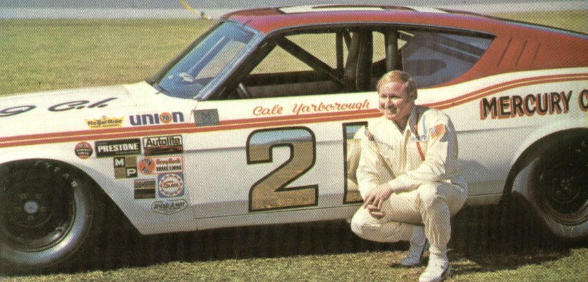 Photo of Cale Yarborough and David Pearson Interview