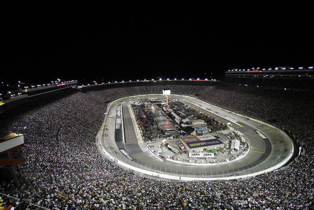 Bristol Speedway night