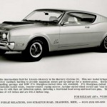 New 1969 Mercury News Release