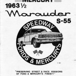 Speedway Fords & Mercurys-1963 1/2 Marauder