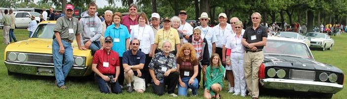 Here is one of our Reunions held at the Keenland Concours in Lexington, KY.
