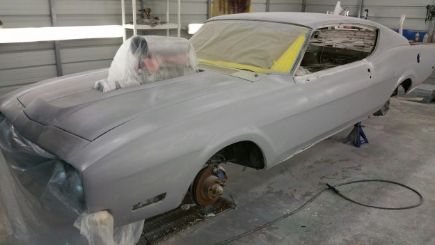Here is a hint to why this will not be your average restored Dan Gurney Spoiler II.