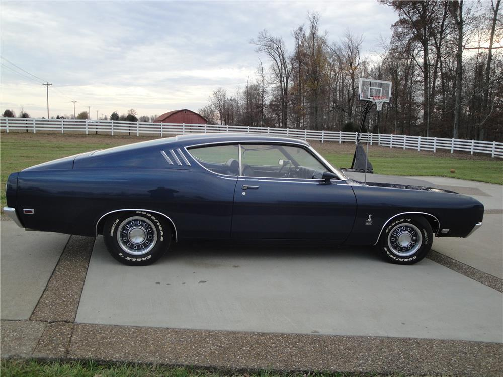 Modified 1969 Ford Talladega, Blue, sold at this auction last year for $110,000; Lot 559, selling Wednesday January 14, 2015.