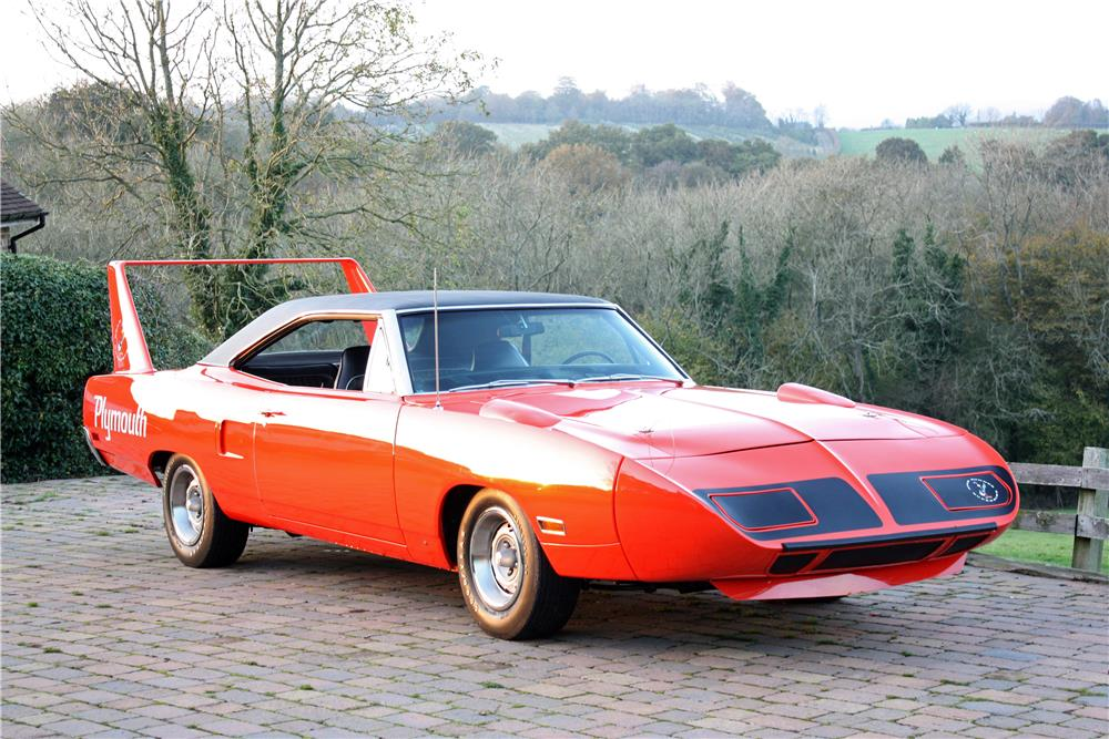 1970 Plymouth Superbird; Lot 5014 selling on Saturday January 17, 2015.