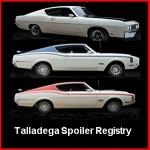 Smartphone Page for Talladega Spoiler Registry