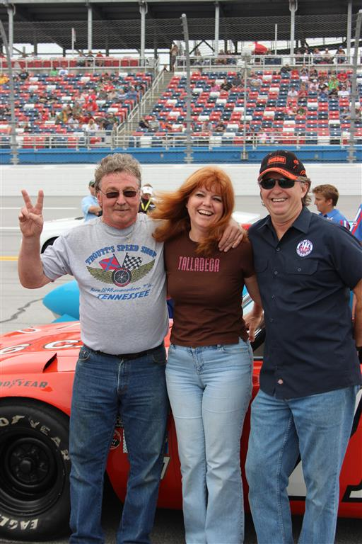 Kenny Troutt, Katrina and Tim Wellborn