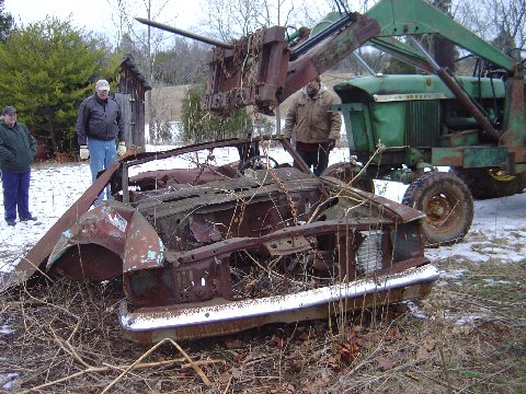 This car as found.
