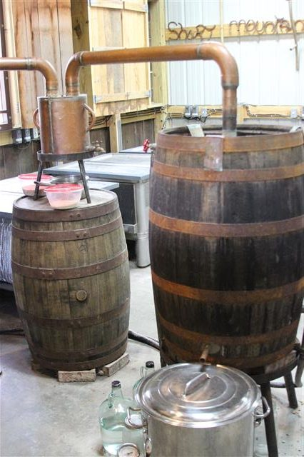 This still is legal but produces a brand of moonshine that is authentic to the real stuff.