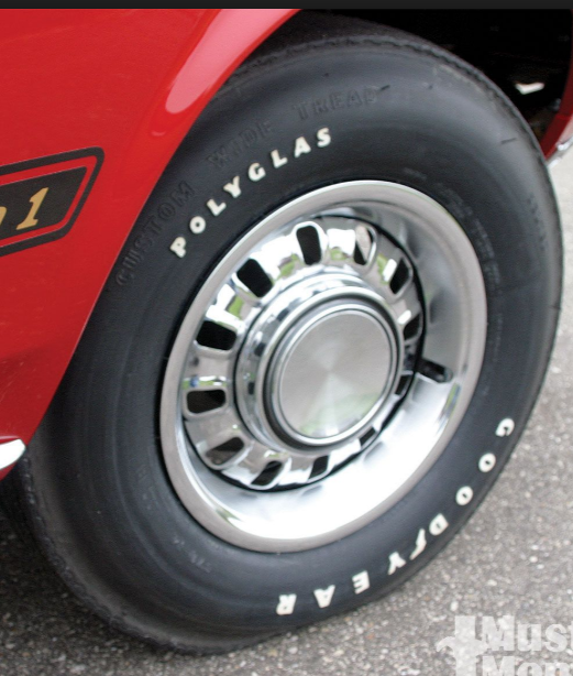 This would be the correct tire for a 1969 Ford and is what I have on my Gurney Spoiler II because I could not find any Firestone tires at the time.