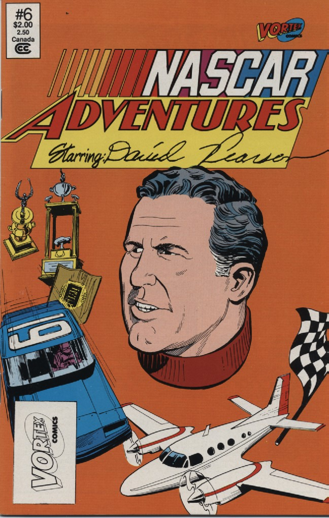 Photo of Life Story of David Pearson in Comics; Part 1