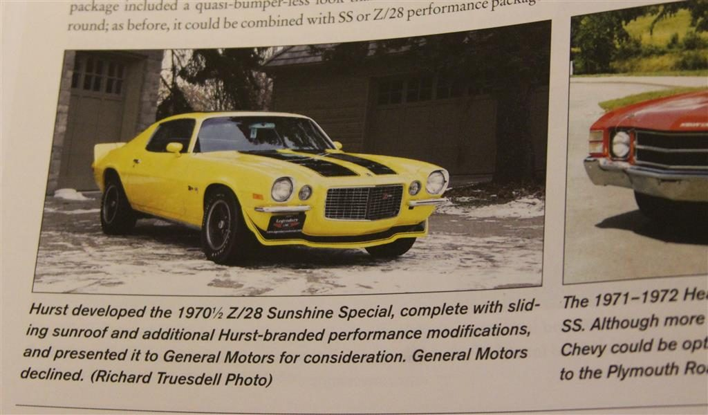 Did you know Hurst tried to convince Chevy to do a Hurst Camaro? Here is the one and only example.