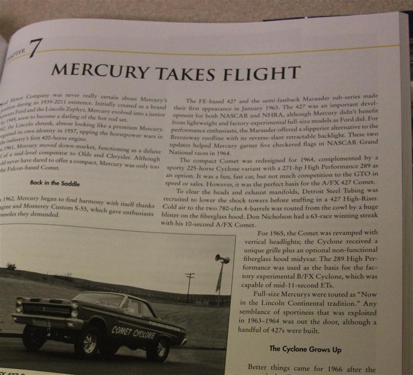 Mercury Takes Flight