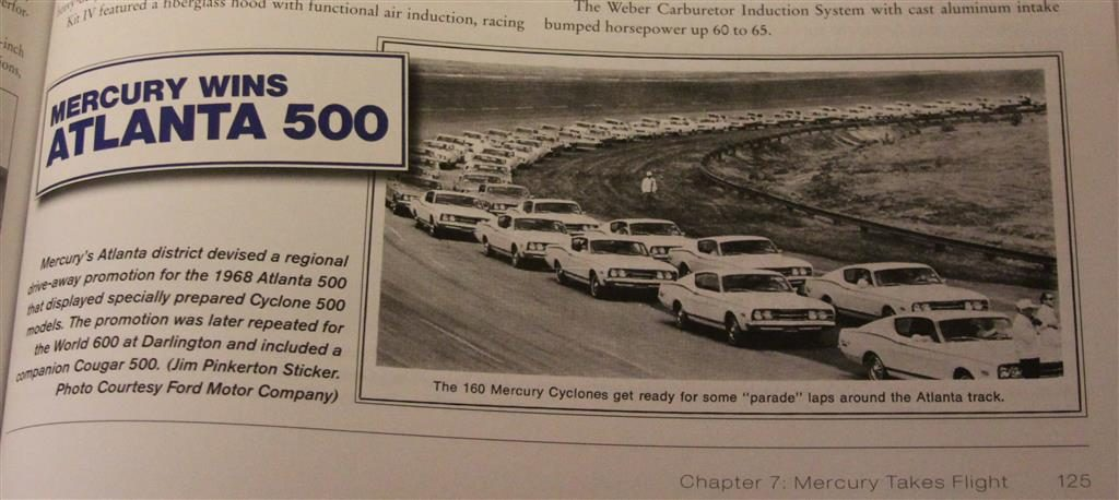 There is still more to be learned about the 1968 GT 500 sales campaigns with the race tracks.