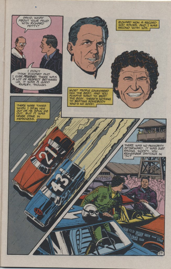 Photo of The Life of David Pearson Comicbook; Part 5: Conclusion