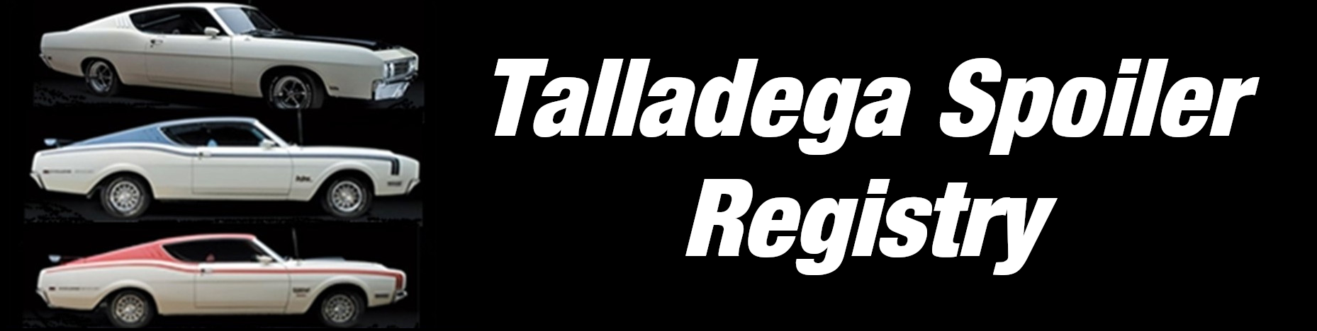 Talladega and Spoiler Registry