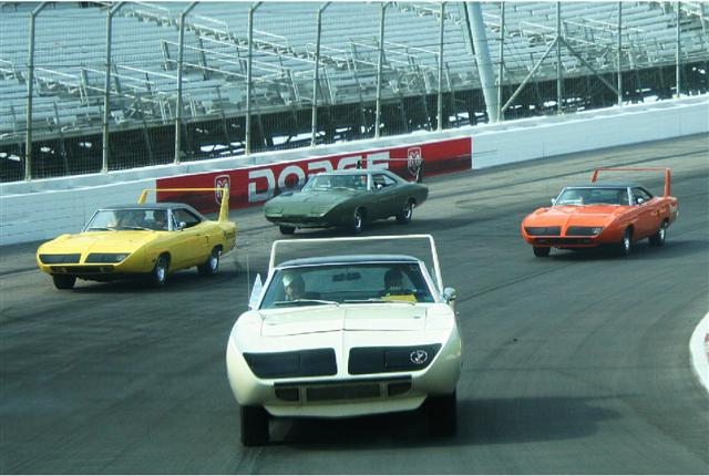 We will be joining up with our MOPAR counterparts for the 2014 Aero Car Reunion at the Talladega Superspeedway.