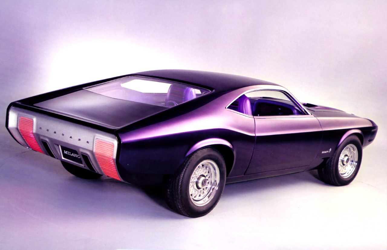 ... of what Ford was thinking in 1969 the future might look like back in