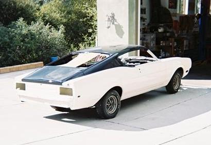 1969 Mercury Cyclone Dan Gurney Spoiler