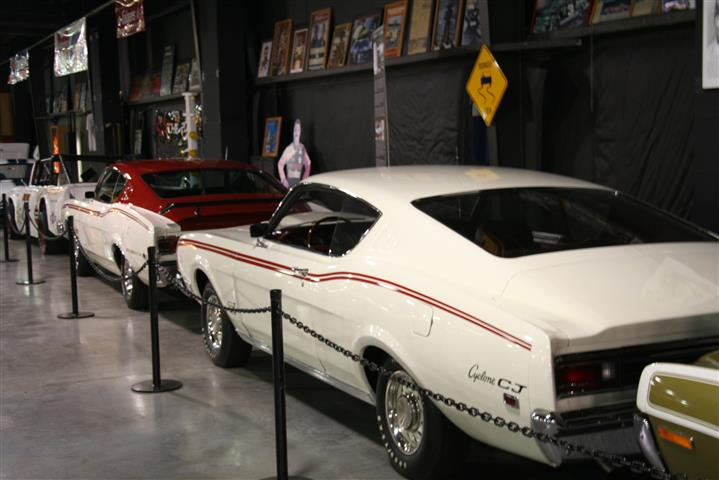 Floyd Garrett Muscle Car Museum; when was the last time you saw two Cyclones next to each other in a Museum?