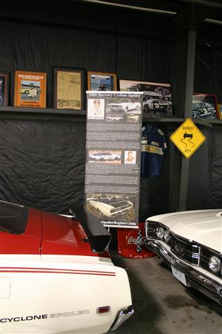 Informational Banner on the Mercury Cyclone Spoiler