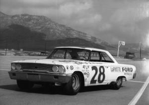 Fred Lorenzen #28 Ford