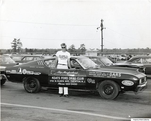 Skip and the Keats Ford Talladega in full dress.