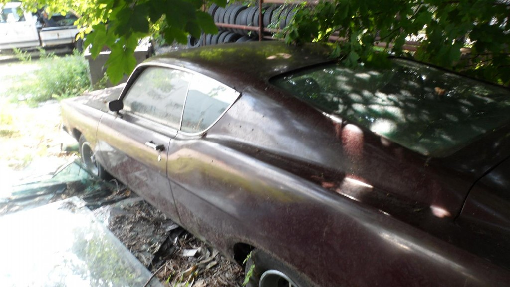 This is how the car was found in 2012 in NJ.