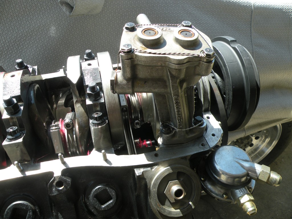 Nascar Dry Sump Oil Pump