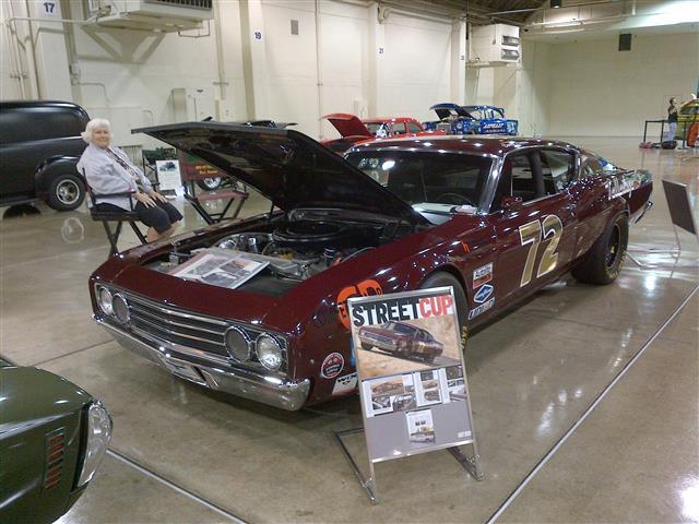 Rick Stanton's Boss 429 Talladega Benny Parson's tribute car.