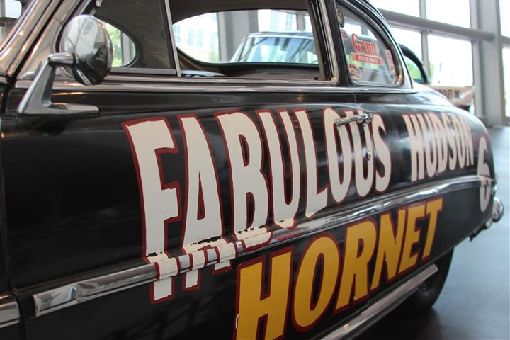 The Fabulous Hudson Hornet was one of the first Super Stars of NASCAR. I was only 5 or 6 when I remember my dad telling me about how much faster the Hudson was!