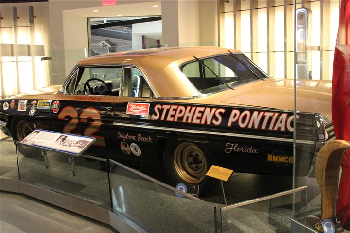 The very first Super Star I followed in NASCAR was Fireball Roberts. I still think this Smokey Yunick Fireball car is one of the most beautiful to ever race.