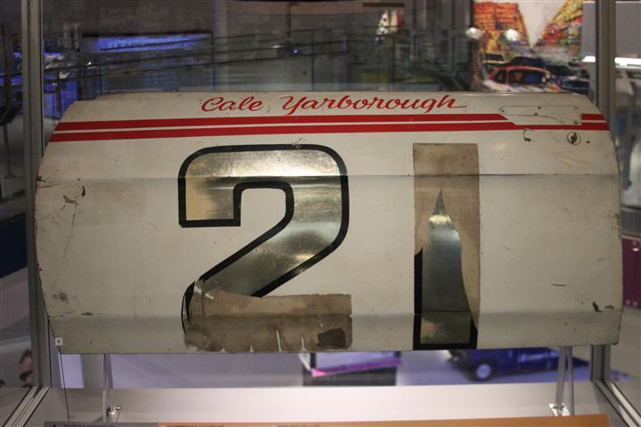 Cale Yarboroug's #21 Spoiler II door.