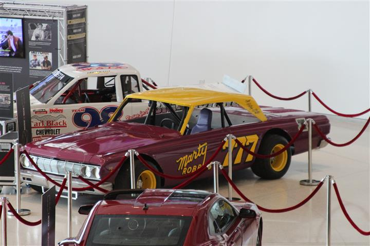 This is the Marty Robbins race car as it raced in Nashville. If you don't know who Marty is or is racing history in NASCAR you are missing some wonderful history.