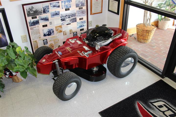 Glen Wood built lawn mower!
