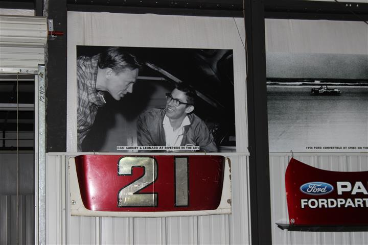 A real Cale Yarborough Spoiler/Spoiler II trunk lid from his race car.