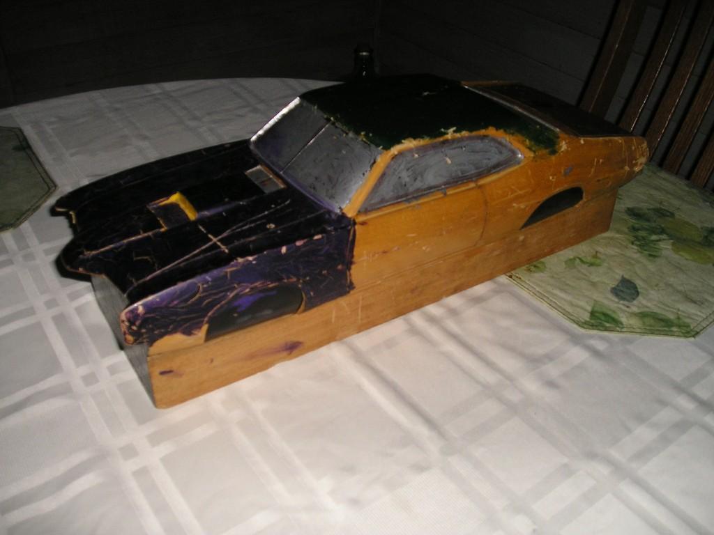 Wood Block Car #1