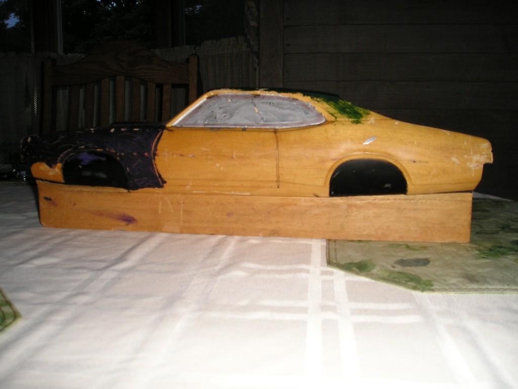 Wood Block Car #2