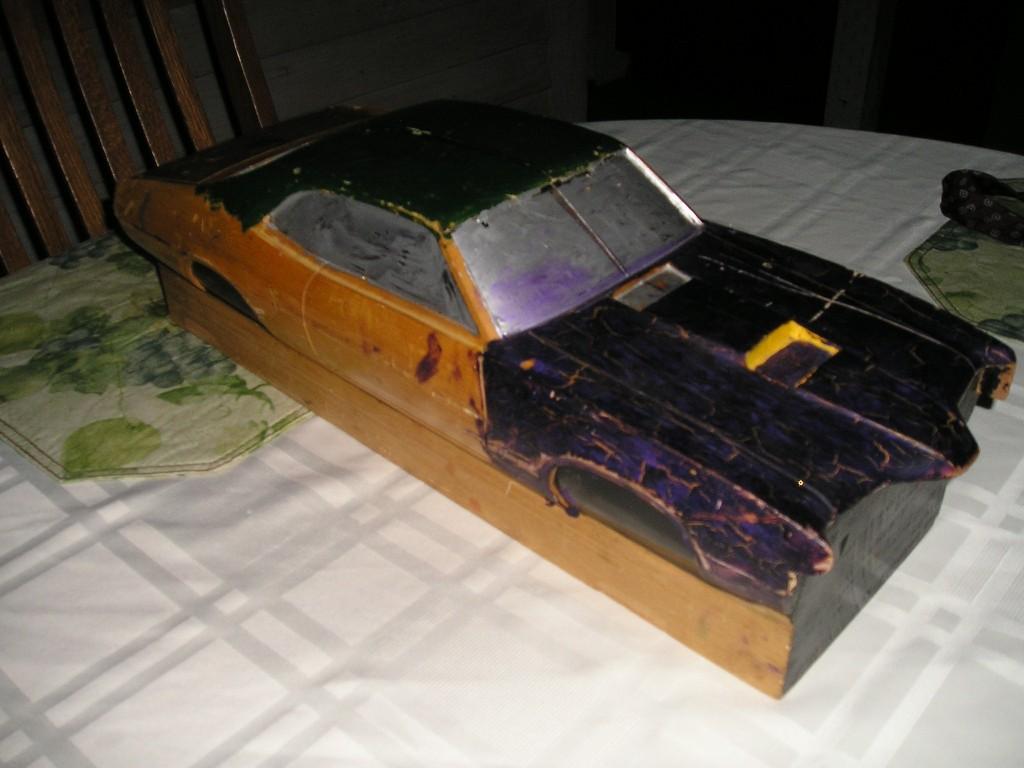 Wood Block Car #3