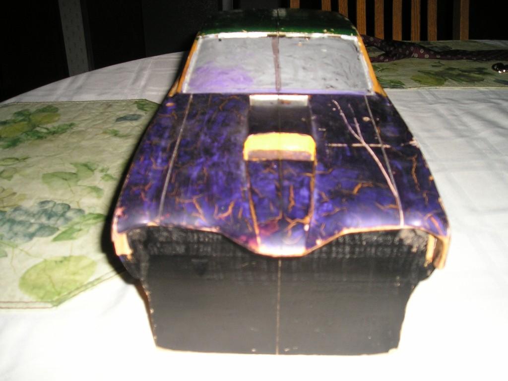 Wood Block Car #4