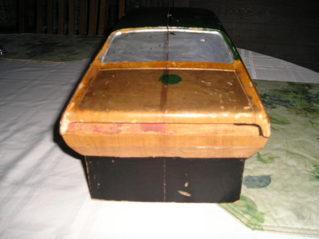 Wood Block Car #5