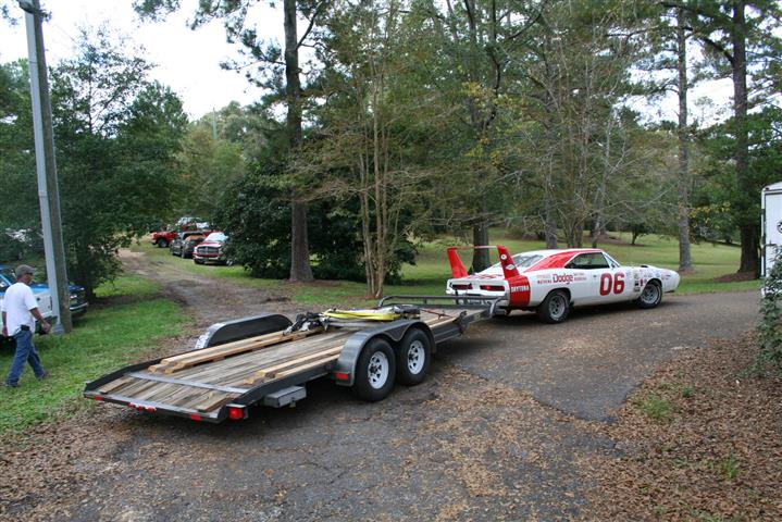 How about a Dodge Daytona tow car!