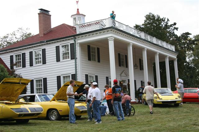 Tim and Pam's home was impressive and then put a lawn full of Aero Cars and you can't beat it.