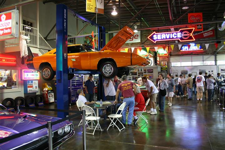 The party and tour of the Wellborn Muscle Car Museum was a big thrill.