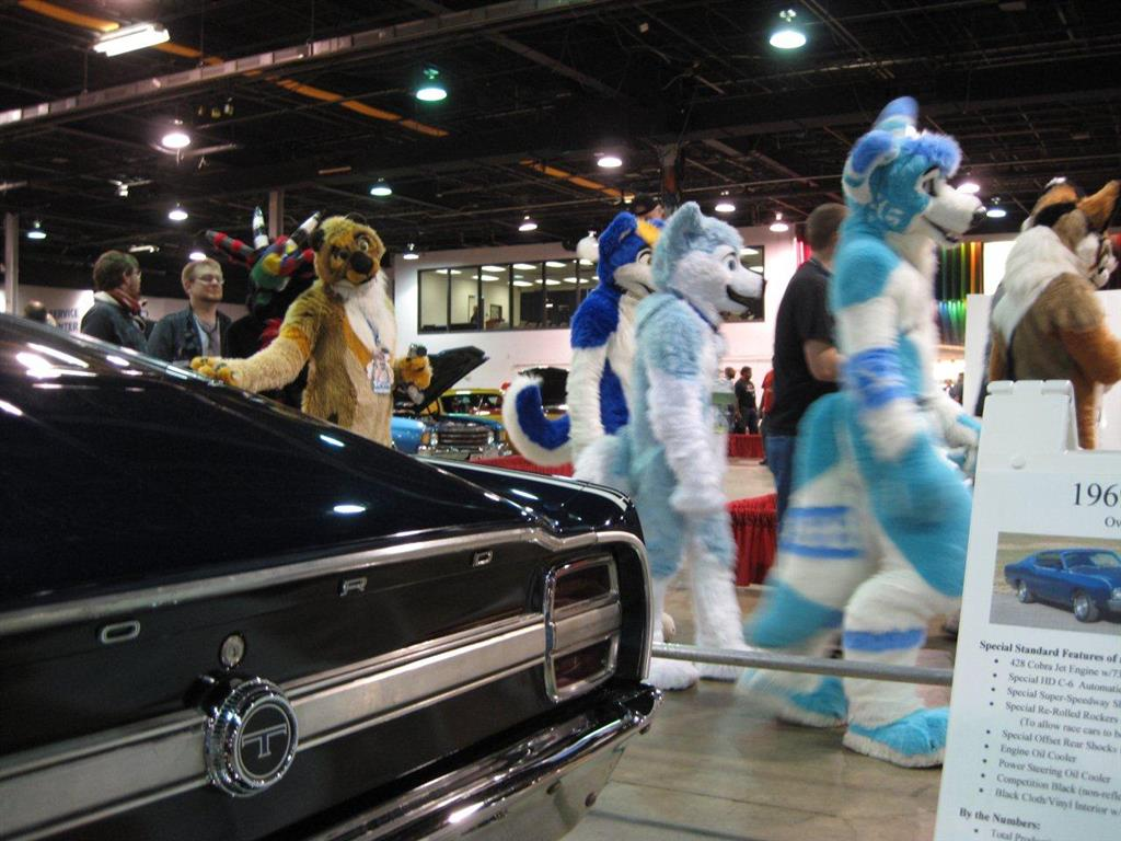 Muscle Car and Corvette Nationals, Chicago 2012. Those must be Corvette owners!